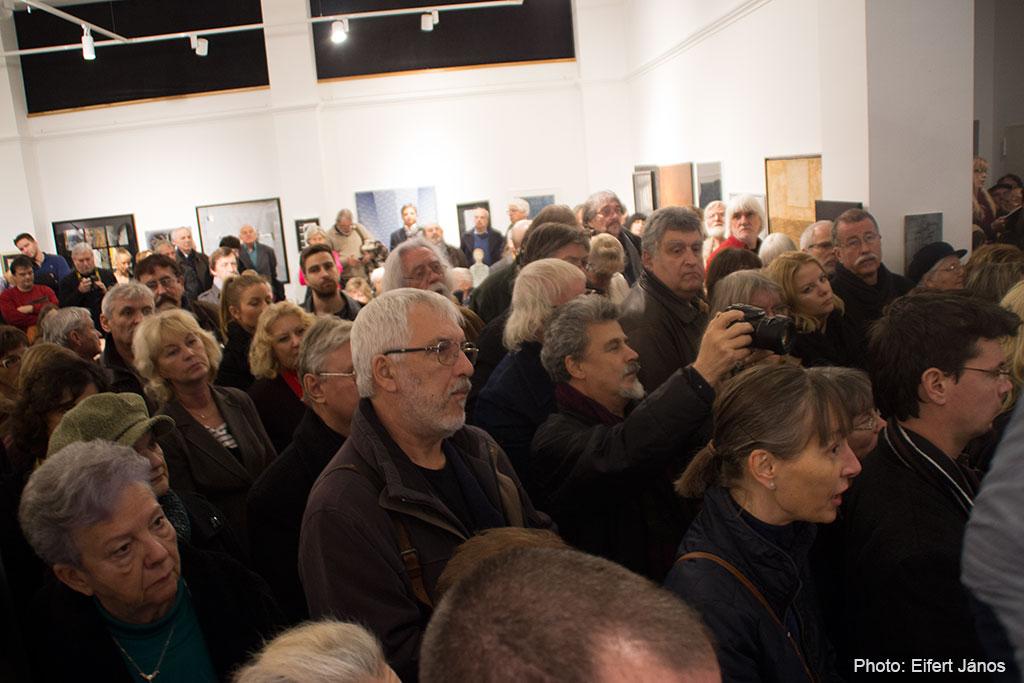 HARMÓNIA-kiállításmegnyitó-közönsége