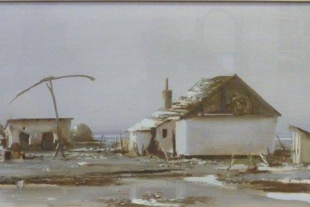 Fejér Csaba festőművész emlékkiállítása Hódmezővásárhelyen, a Tornyai JánosMúzeumban
