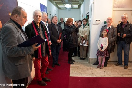 Eifert János ARS POETICA c. kiállításaSzlovákiában