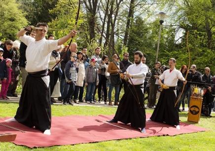 SAKURA ünnep aFüvészkertben