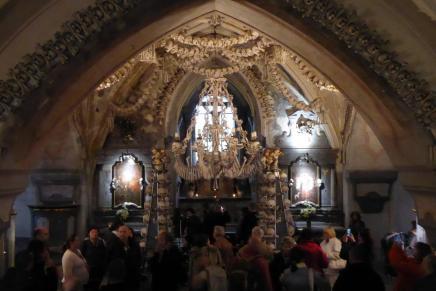 Csontkápolna Csehországban